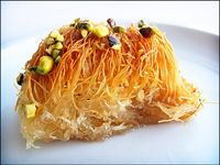 Traditional and homemade sweets and desserts