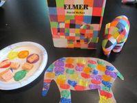 Activitats orientades a treballar el conte de l'ELMER.
