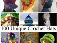 Hats and head warmers - crochet, knit, etc.