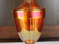 Carnival glass..