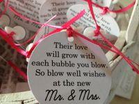 Wedding Ideas - Little Details