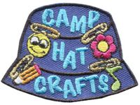 Camp Hat Crafts - Girl Guides