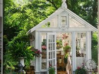 Whatever you want to call them--they are grown-up playhouses and they are just dreamy!