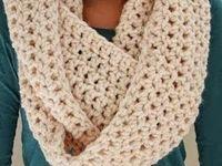 infinity scarf...crochet/knit
