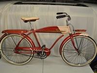 Vintage Bikes, Trikes, and Wagons