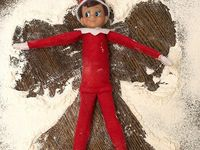 I love everyones funny Elf on the shelf pictures~ thanks for posting them