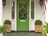 Great colors for the front door