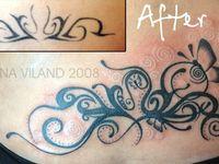 swirl tattoos