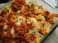 Garlic baked shrimp recipe