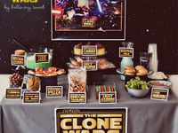 It is never to early to start planning the next birthday party.  The supplies and ideas are endless with a star wars theme.  Time to get started.