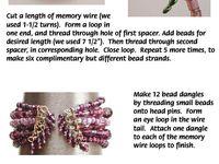 Bead Stringing~ Bracelet Tutes