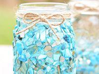 DIY deco -  vases, glasses, jars
