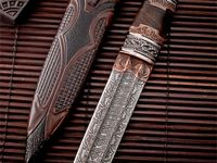 A fascination with knives and not just working knives, but those beautiful enough in workmanship or aesthetics to be considered a piece of art.