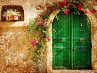 standing between you & the inside/outside world, doors of distinctive design & artistry welcome...