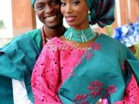 NIGERIA BEADED NECKLACES