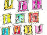 Art - Alphabet