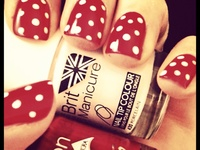 Vintage Nail Art by Appletree Days
