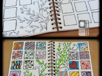 Art Journaling, Painting, Doodles, Calligraphy, Bookbinding...