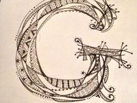Doodle (ideas) letters/fonts