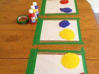 Toddler/preschool activities