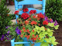 Cottage Gardens, Garden Art & Garden Junk