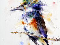 Art: Watercolor Birds
