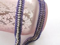 Chainmail jewelry necklaces, pendants, etc