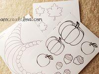 Preschool - November Crafts