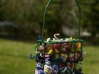 DIY backyard bird stuff