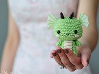 Collection of cute & adorable crocheted amigurumi creations!