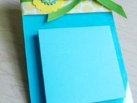 Paper crafts / post it notes  /Altered Compoaition Books