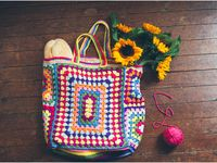 crochet - bags, sacs