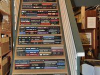 LIBRARY-BOOKSHELVES