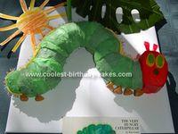 Hungry caterpillar cake or brown bear