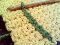 Crocheting, sewing, etc..