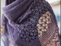 Scarves and shawls - crochet, knit, etc