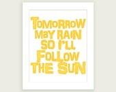 Hello Sunshine Yellow !