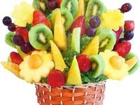 Arte en fruta