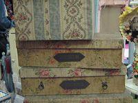 Vintage hat boxes/etc