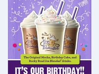 Celebrate our 50th Birthday with these new drinks!