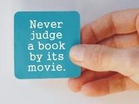 Book: always > the movie