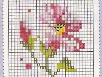 Counted Cross Stitch - Flowers