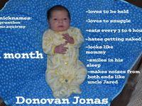 For Donovan Jonas