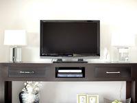 Decorating around the TV~