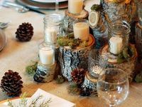Winter in the woods wedding