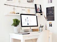 Little office space.