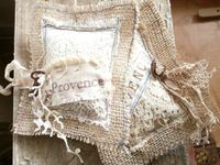 Lots of ideas for making lavender sachets and bags.