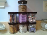 Reuse Talenti Containers