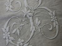 Initials  and  Monograms Embroidered
