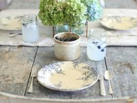 ~ breakfast, brunch, tea, or cocktails, dinner, dancing, and a million different ways to set a table ~ my take on a table ~ why should anything match?  Join me?